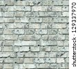 Grey Old Brick Wall. Seamless Tileable Texture. - stock photo