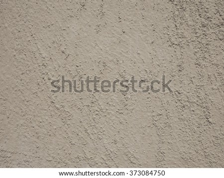 Grey painted on cement walls