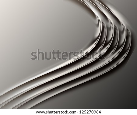 Grey soft abstract background for design artworks, - stock photo