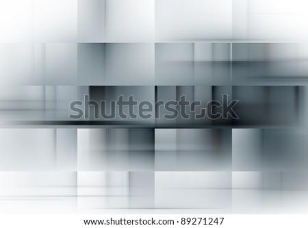 Grey soft abstract background for various  design artworks, cards - stock photo