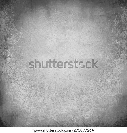 grey spotlight black wall - stock photo