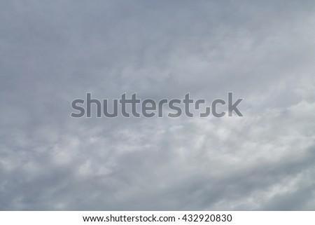 grey storm clouds. - stock photo