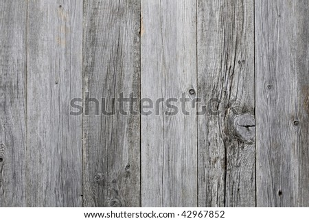 Grey weathered wooden background texture - stock photo