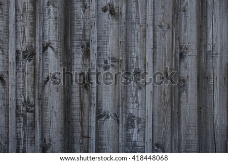 Grey wood background. Grunge wood texture. Vertical plank - stock photo