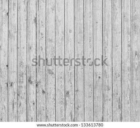 Grey wood planks natural background - stock photo