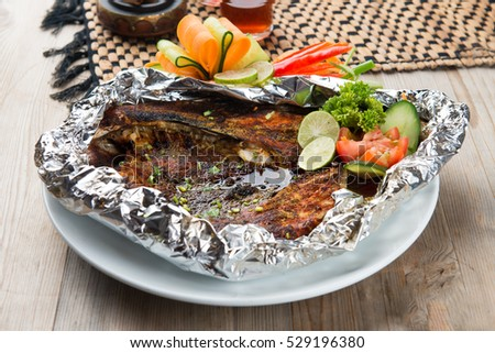 grilled arab fish
