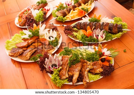 grilled dishes