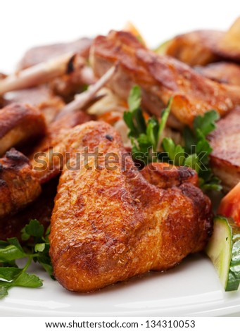 Grilled Meat Foods