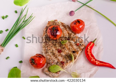 Homemade wiener schnitzel radish salad viennese stock photo 420238618 shutterstock - Make perfect grilled vegetables ...