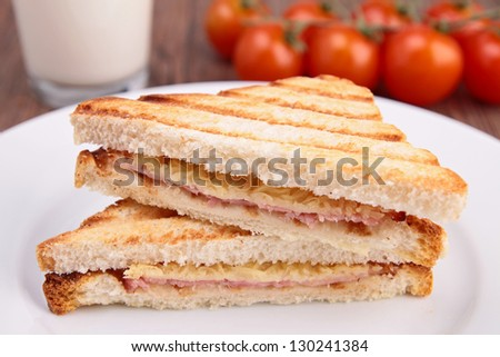 grilled sandwich toast