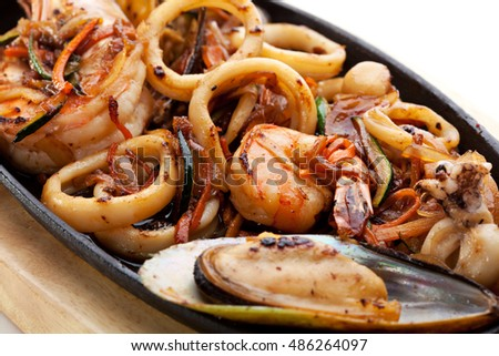 how to cook calamari rings on bbq