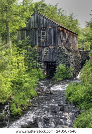 Grist Mill - stock photo