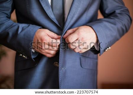 groom - stock photo