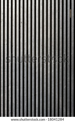grooved metal texture - stock photo
