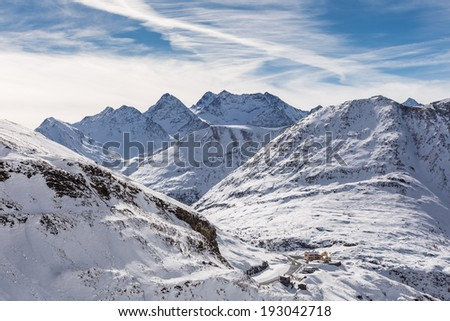 Grossglockner High Alpine Road, Austria - stock photo