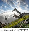 Grossglockner, National Park Hohe Tauern, Austria - stock photo