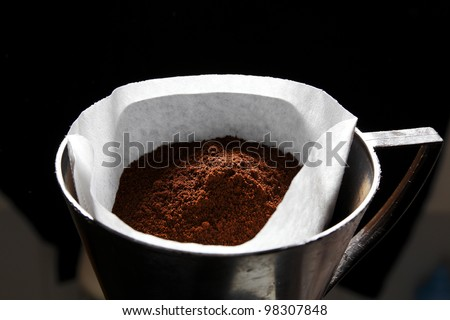 ground coffee stock photo - photo #24