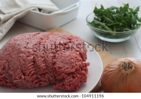 Ground meat vertical