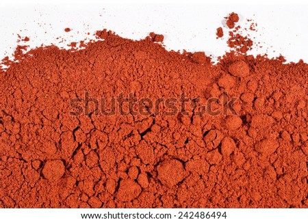 Ground paprika background  - stock photo