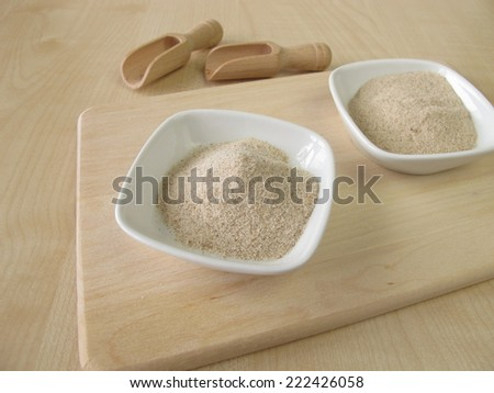 Ground psyllium seed husks