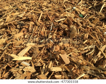 Ground wood chips