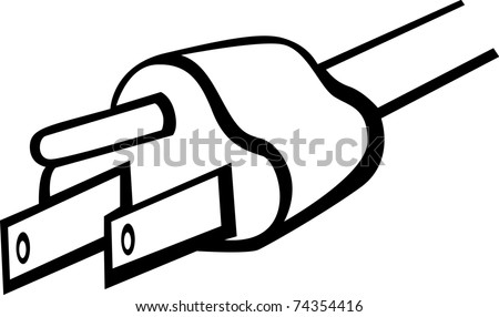 Stock Vector Power Plug And Outlet Symbol