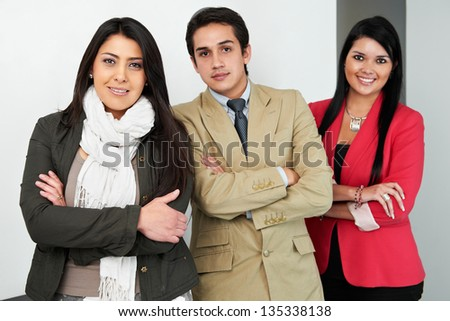 Group of business people at office