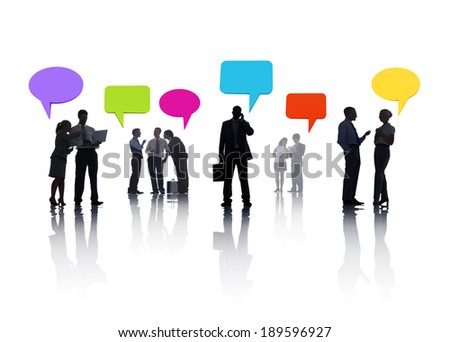 Group of Business People Meeting
