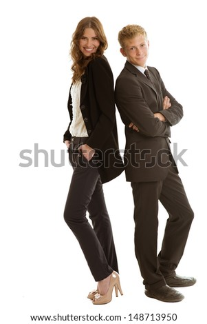 group of businessperson - stock photo