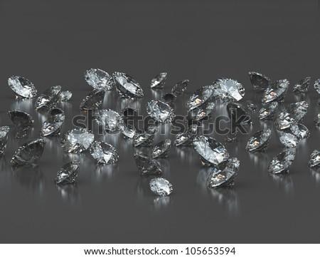 Group of diamonds