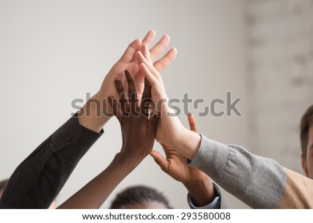 Group of Diverse Multiethnic People Teamwork at Office - stock photo