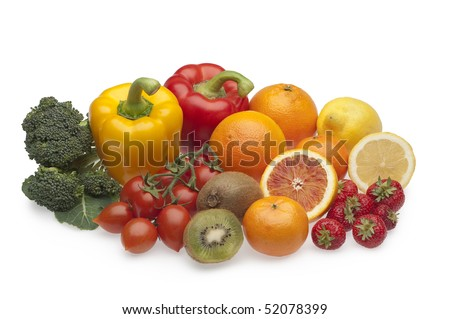 group of fruits and vegetables rich in vitamin c