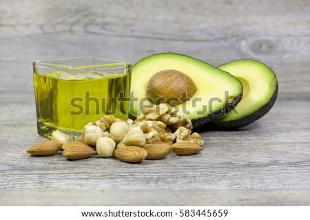 group good fats food examples olive imagen de archivo