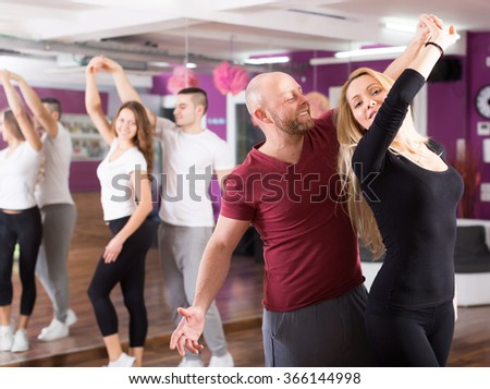 Young adult dance clubs