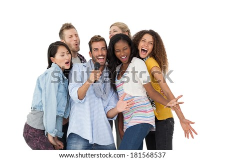 Singing Group Stock Images, Royalty-Free Images & Vectors ... Group Singing Images