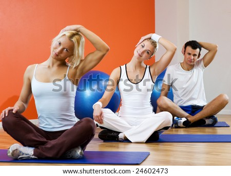yoga and healthy living stock photos images  pictures