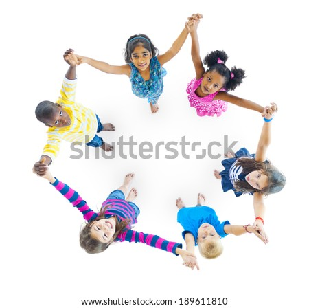 Group of People Holding Hand - stock photo