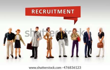 group of people â?? Recruitment Hiring Career Human Resources Concept