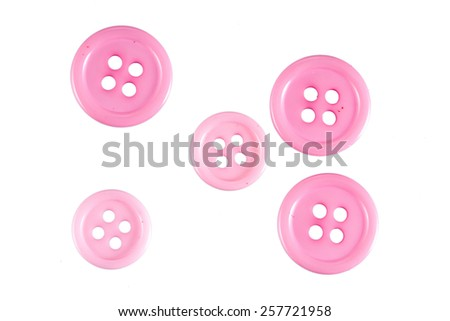 Group of pink Buttons