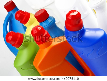 Group of plastic containers