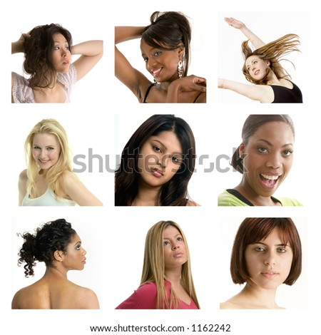 Group of pretty girls - more examples in my portfolio