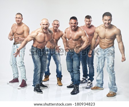 Apologise, shirtless men group variant Moscow