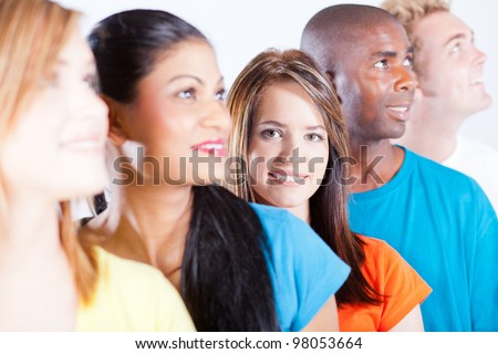group people diversity - stock photo