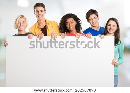 Group, sign, blank.