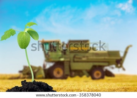 Grow. - stock photo