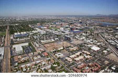 Growing up but not out, Tempe, Arizona - stock photo
