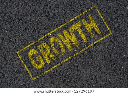 Growth stamp background