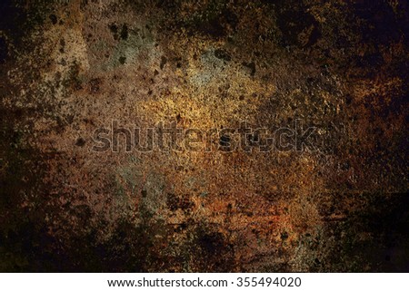 grunge abstract dark background with stains close up