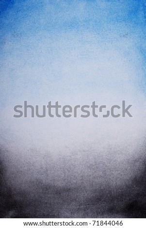 grunge background, blue, grey and black gradient color, with empty space for text or image
