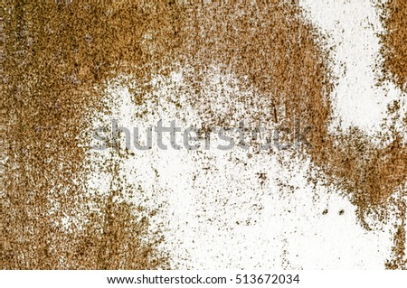 Grunge background brown texture wall rustic rust old organic mildew